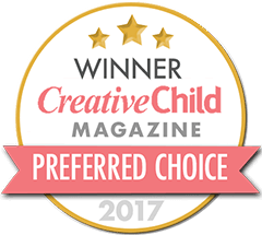 Seal reflecting gold winner of the Mom's Choice Awards