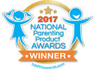 Award Seal:  National Parenting Product Awards Winner (2017)