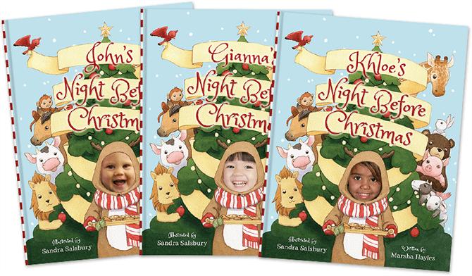 Personalized children's books
