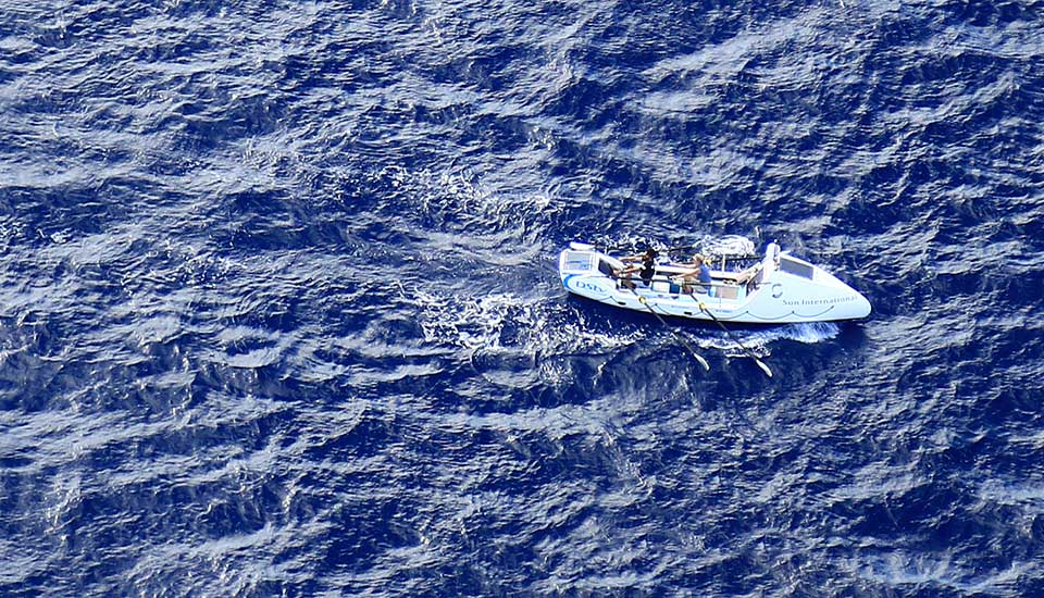 Atlantic Ocean – Trade Winds East to West - Rannoch