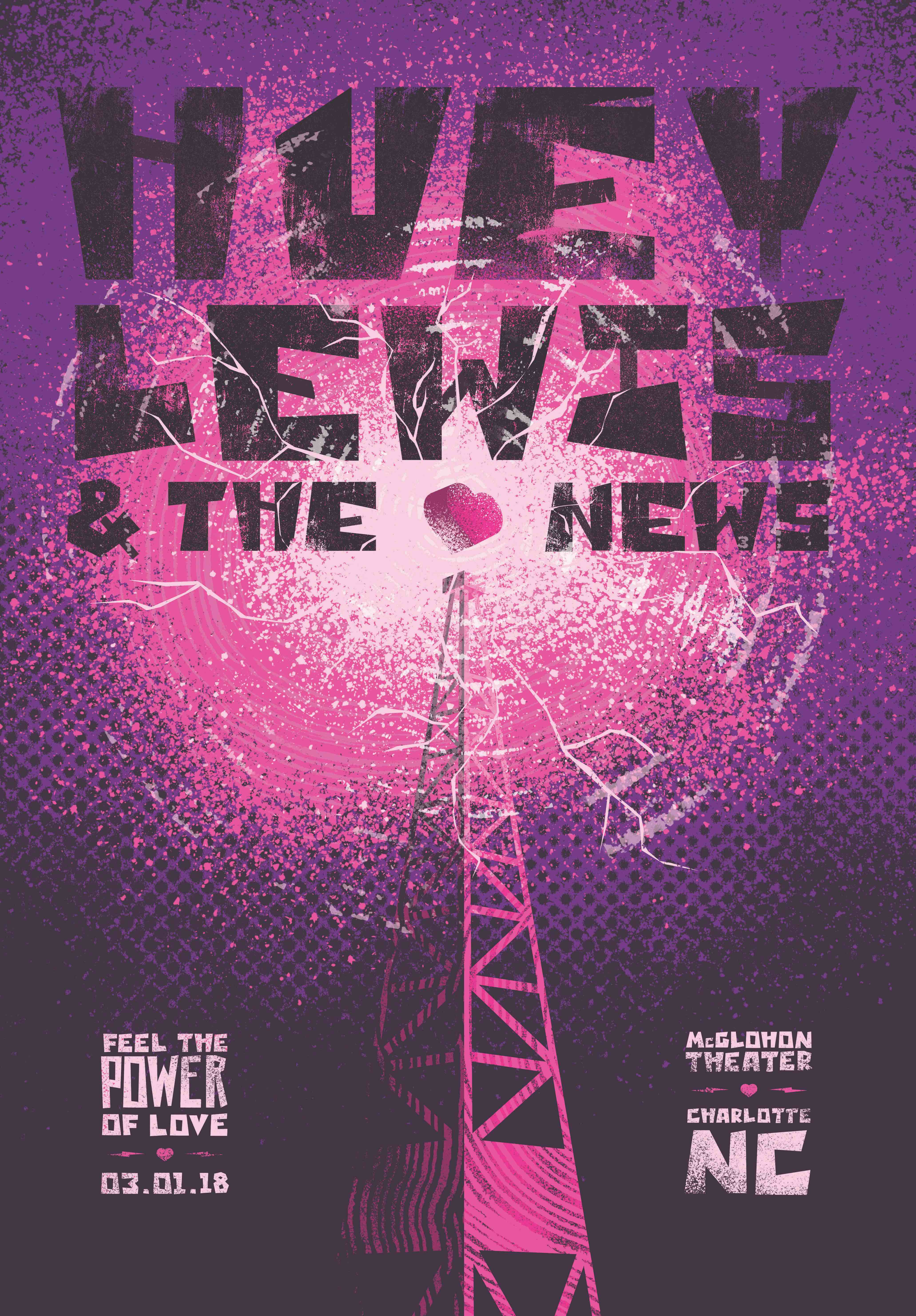 Huey Lewis and the News Show Poster