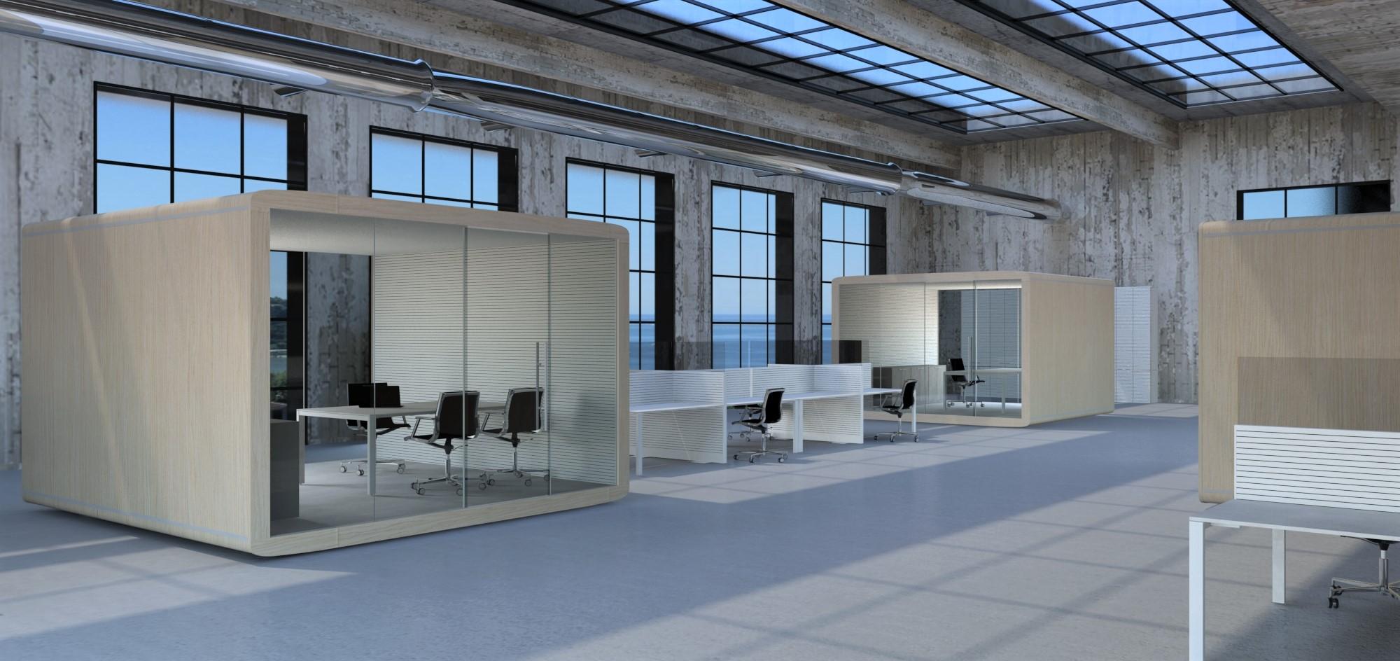 La linea di prodotti Acoustic BOX abbandona la tradizionale stanza rigida in muratura per dar vita a stanze indipendenti.Comfort acustico, eleganza e massima cura per il design sono gli elementi principali di questa linea che vuole emozionare.