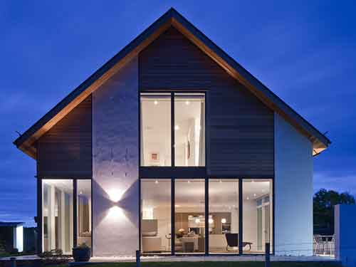 Stunning yet functional interior design