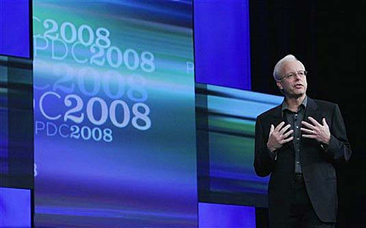 ריי אוזי מציג לראשונה את Windows Azure