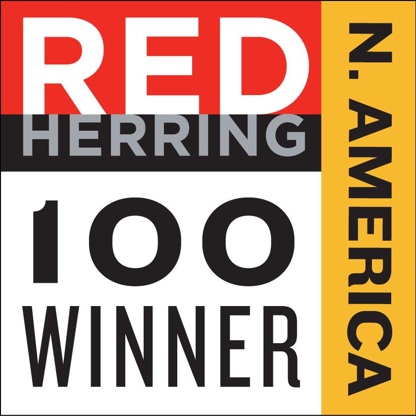 red herring 100 Winner Award
