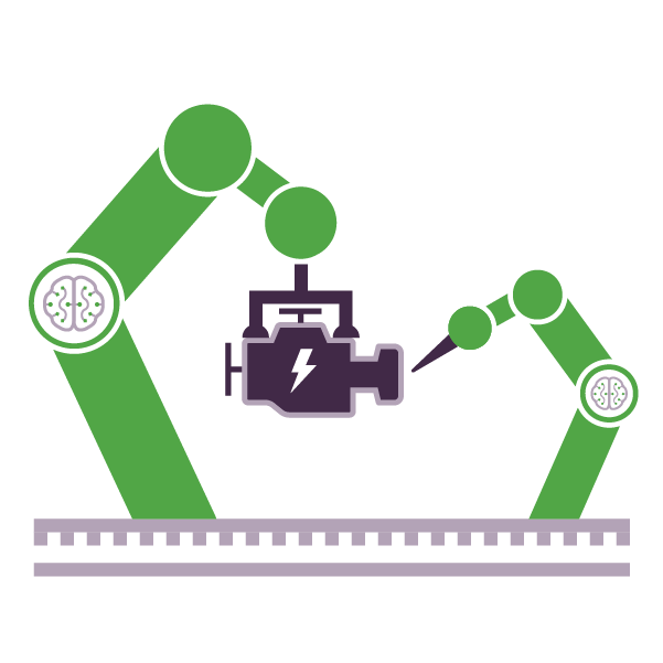 Program AI models to drive increased control & automation into sophisticated industrial systems