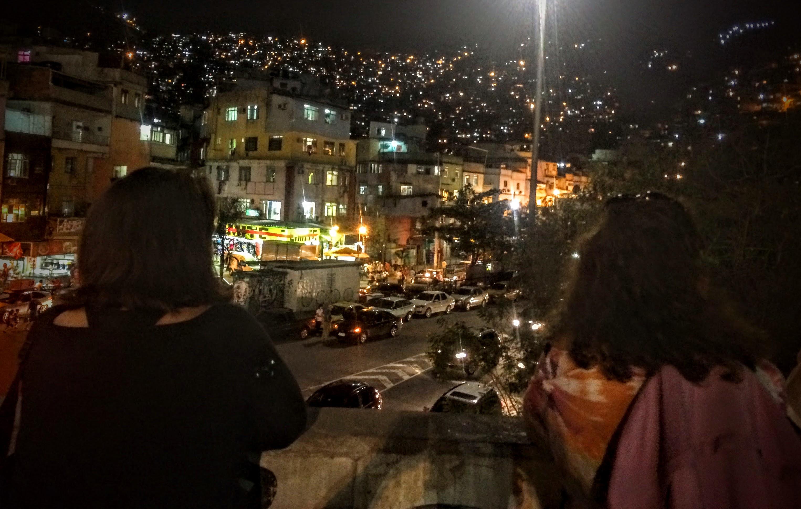 Rocinha night