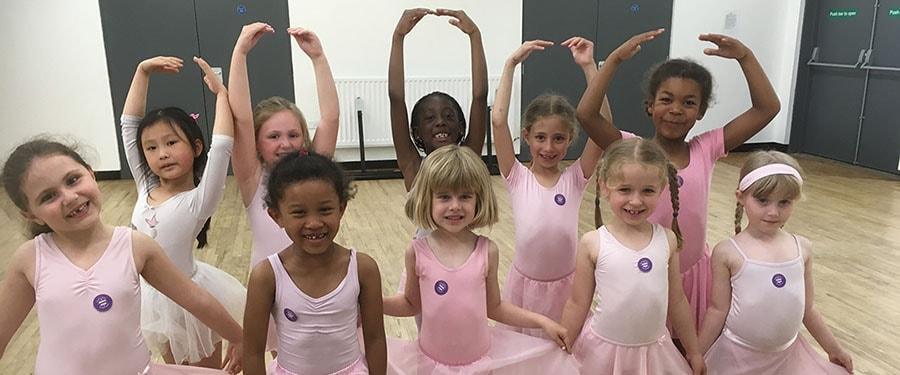 Children's Ballet Classes in Cambridge