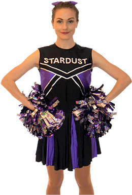 Stardust Cheerleader party entertainer