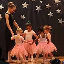 Ballet Class Performance