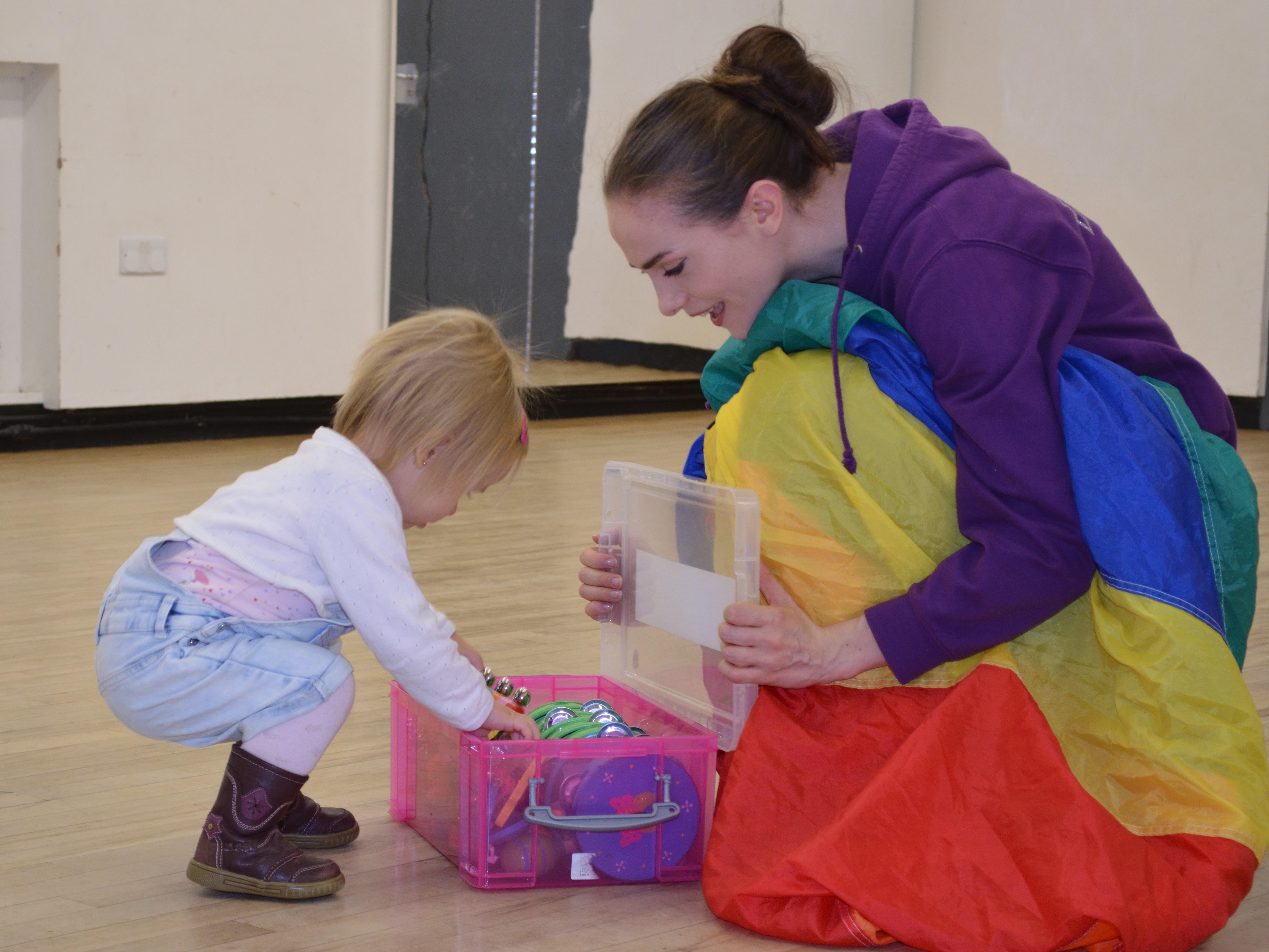Children's Mini Movers Classes in Cambridge