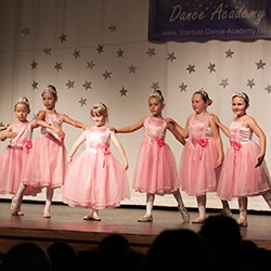 Fairytale Ballerinas on Stage