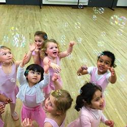 Fairytale Ballet Class Photo