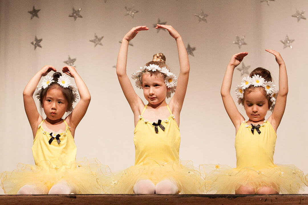 Baby Ballerinas Show Photo