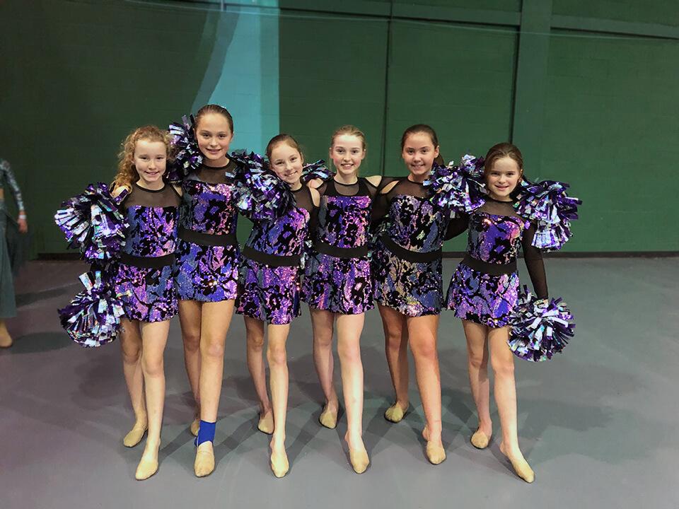 Cheerleading Show Photo