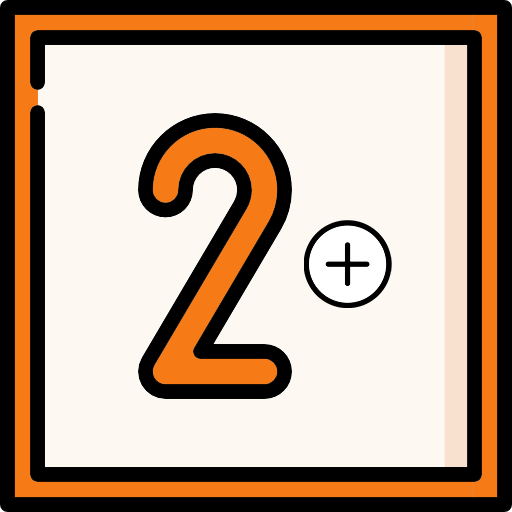 Two or more classes icon