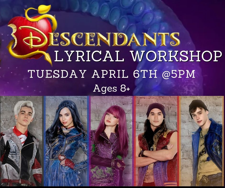 Descendants Lyrical workshop for Easter