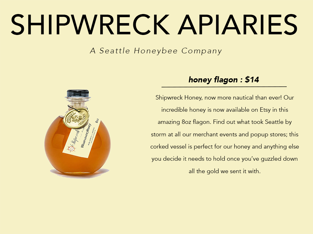PNW gift guide Shipwreck Apiaries