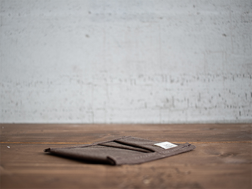 Uphill Designs - waxed canvas mono wallet - all colors
