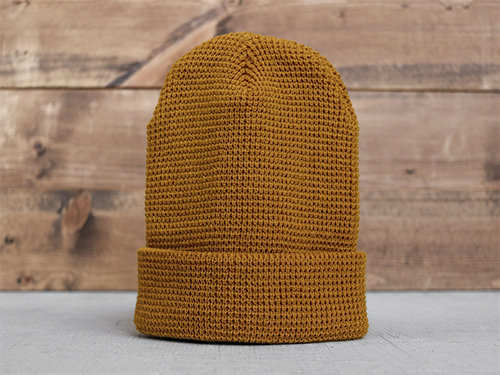 Uphill Designs - 3 trees outdoor beanie back