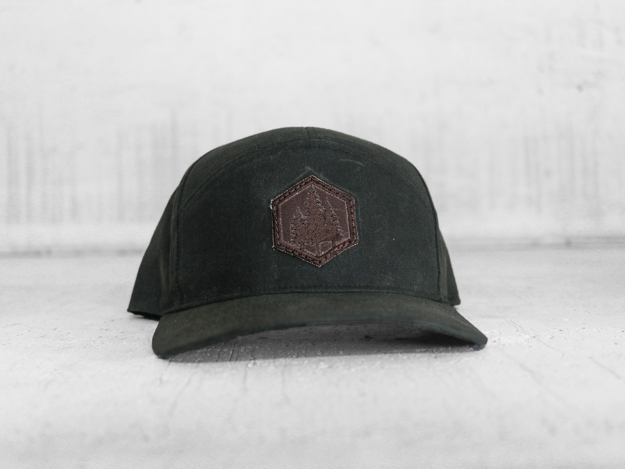 Uphill Designs - trucker hat - light grey - both designs