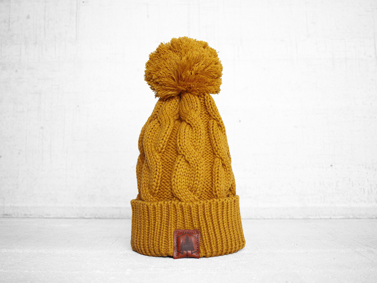 Uphill Designs - 3 trees outdoor beanies