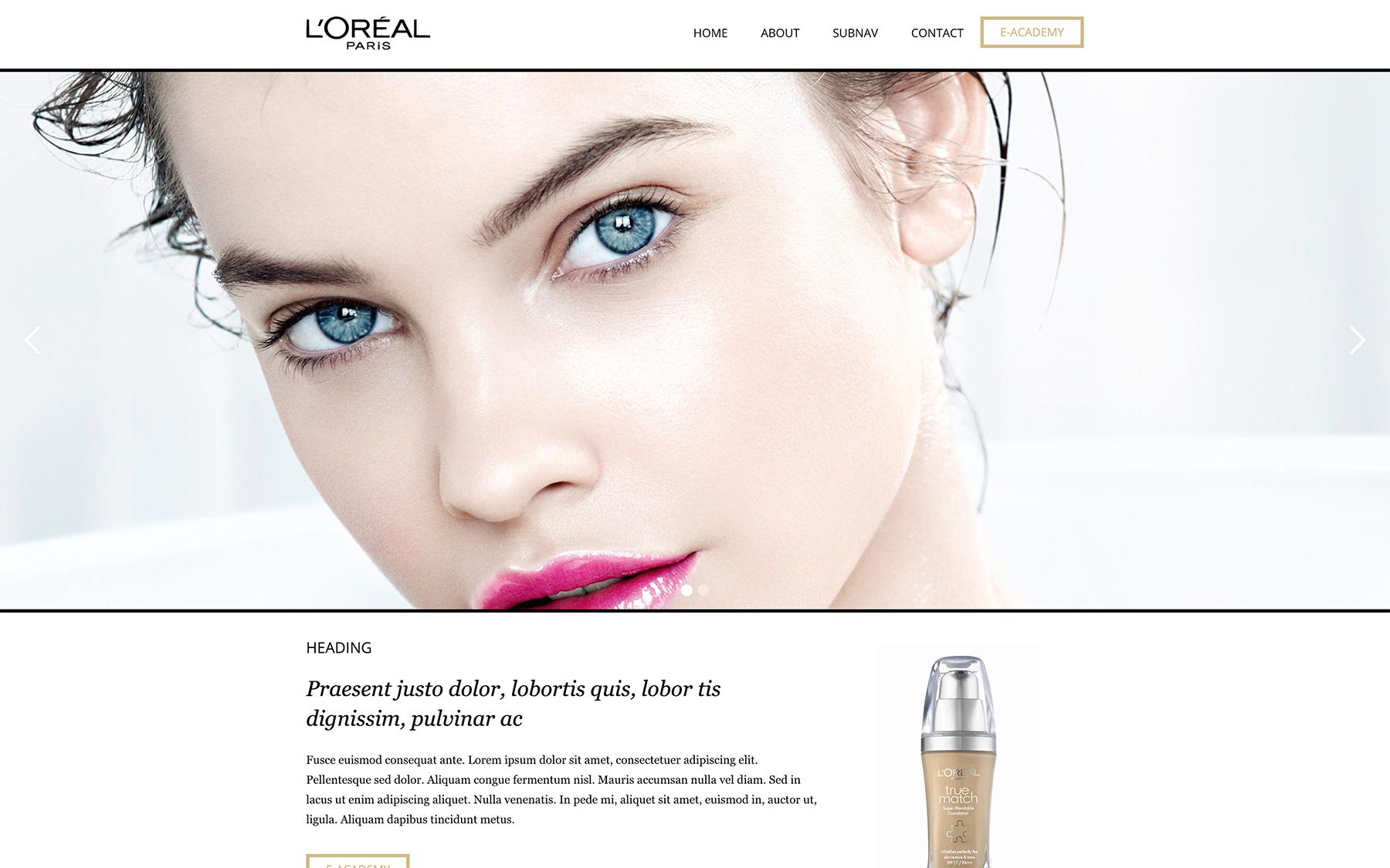 L'Oréal E-Learning