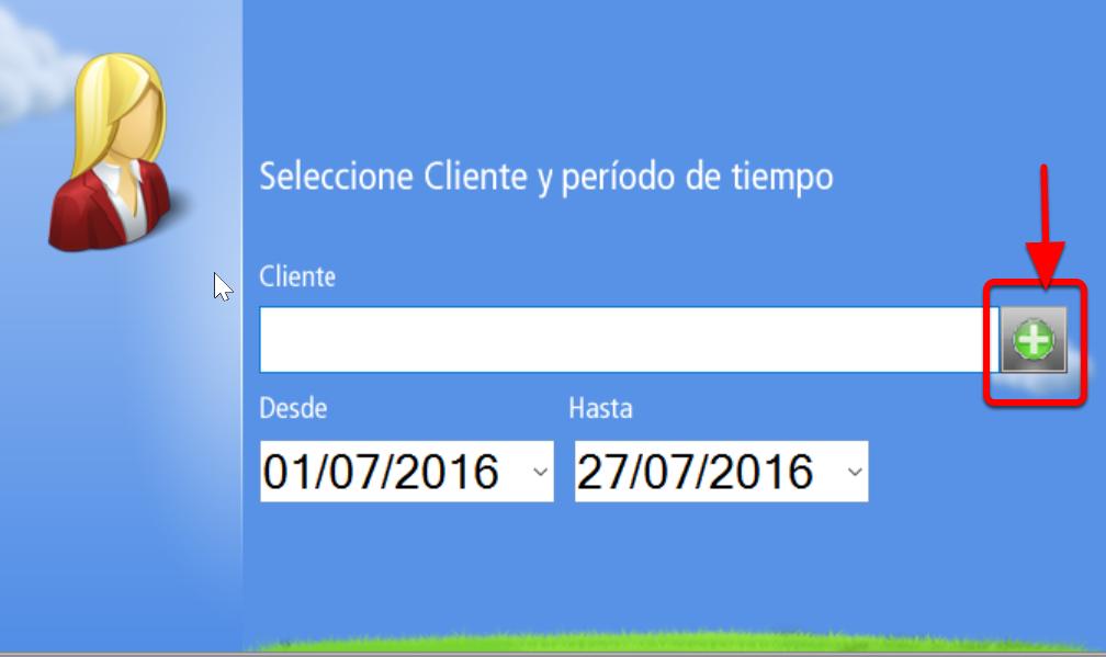 �Escribe el código del cliente o abre la ventana de selección de clientes