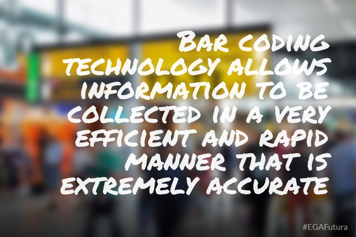 Bar coding technology allows information to be collected in a very efficient and rapid manner that is extremely accurate