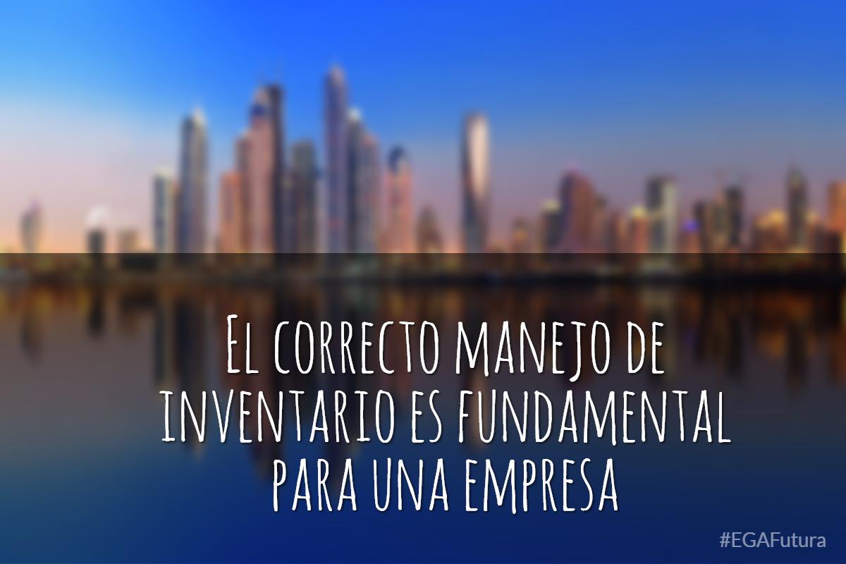 El correcto manejo de inventario es fundamental para una empresa.