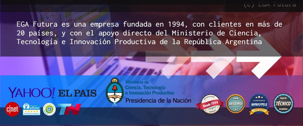 EGA Futura es una empresa proveedora de software fundada en 1994