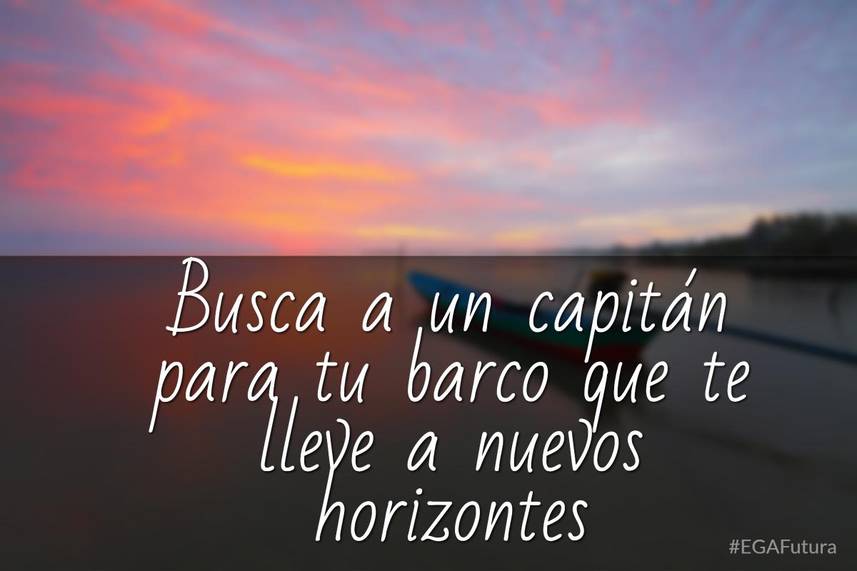 Busca a un capitán para tu barco que te lleve a nuevos horizontes