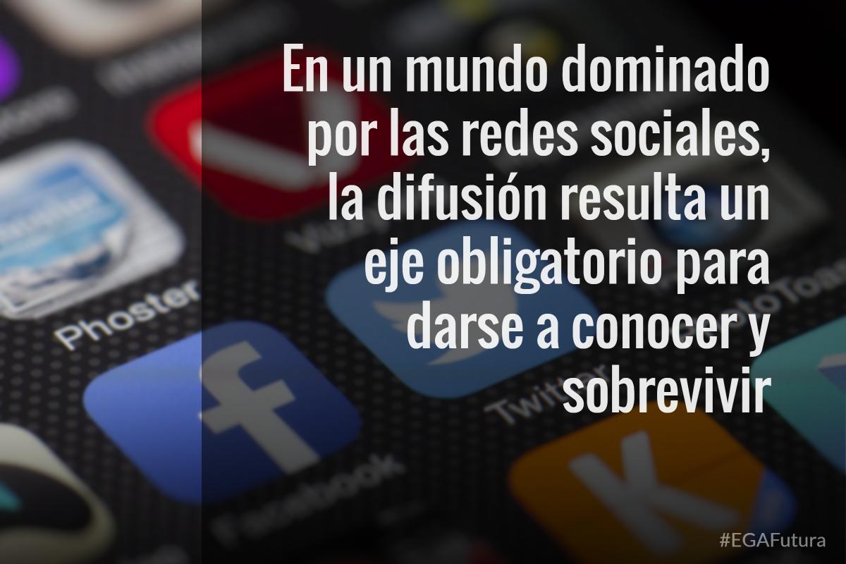 En un mundo dominado por las redes sociales, la difusión resulta un eje obligatorio para darse a conocer y sobrevivir