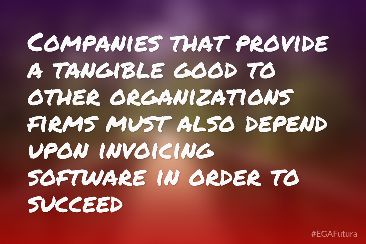 "Companies that provide a tangible good to other organizations (whether businesses or nonprofits) – firms generally known as ""vendors"" in business lingo – must also depend upon invoicing software in order to succeed"