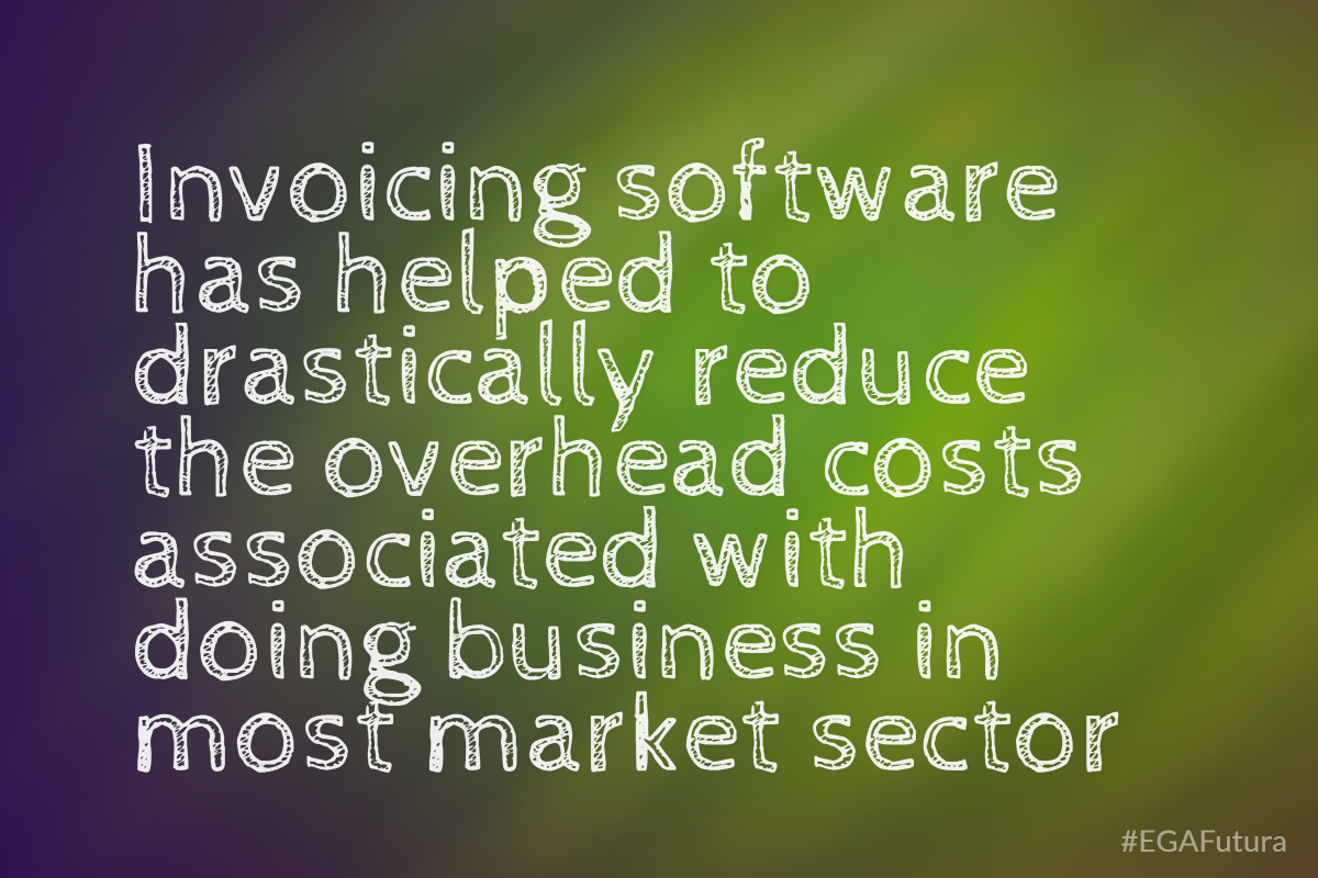 Invoicing software has helped to drastically reduce the overhead costs associated with doing business in most market sectors