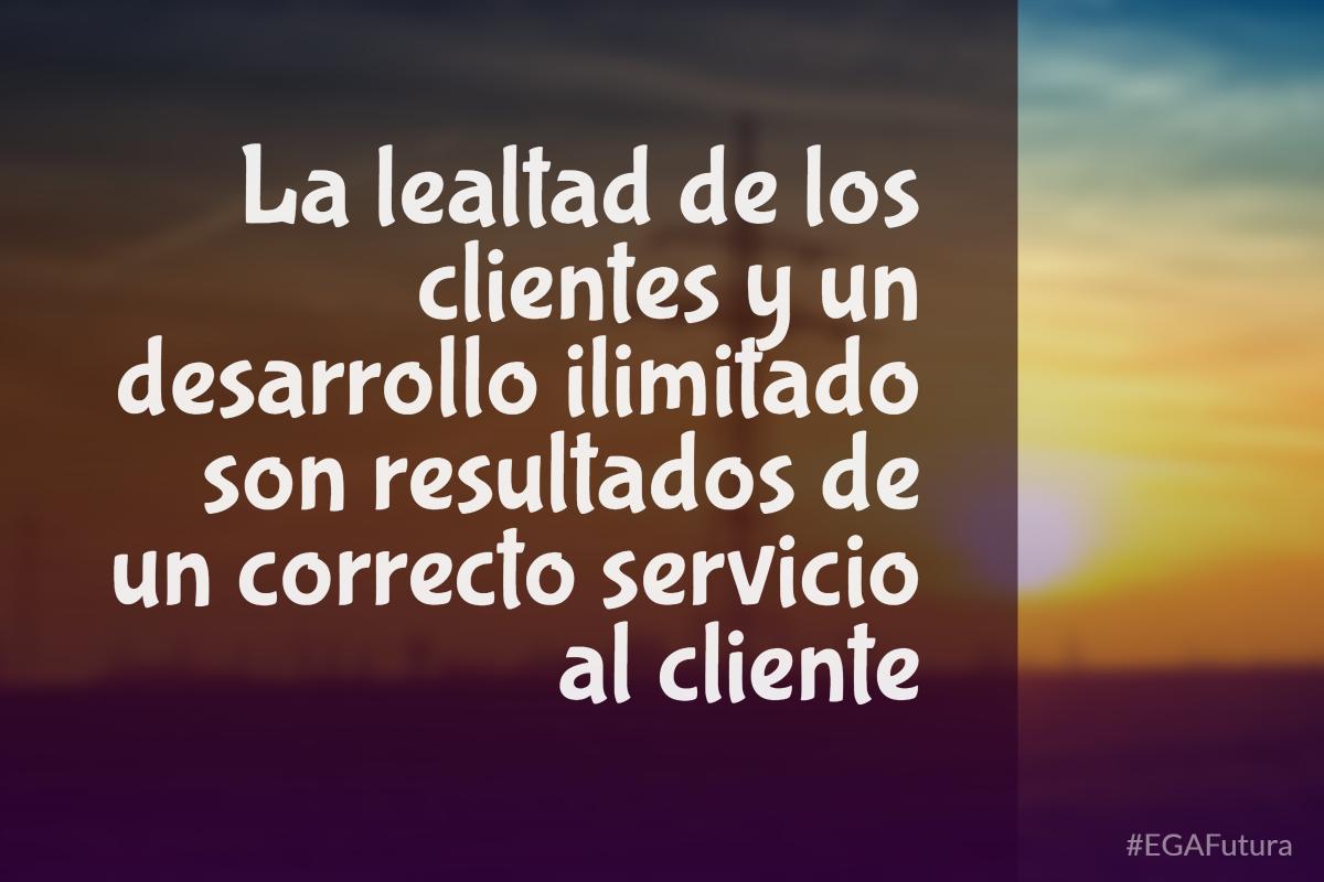 La lealtad de los clientes y un desarrollo ilimitado, son resultados de un correcto servicio al cliente