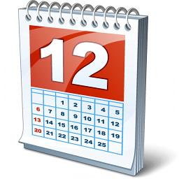 Calendario empresarial dentro de la app
