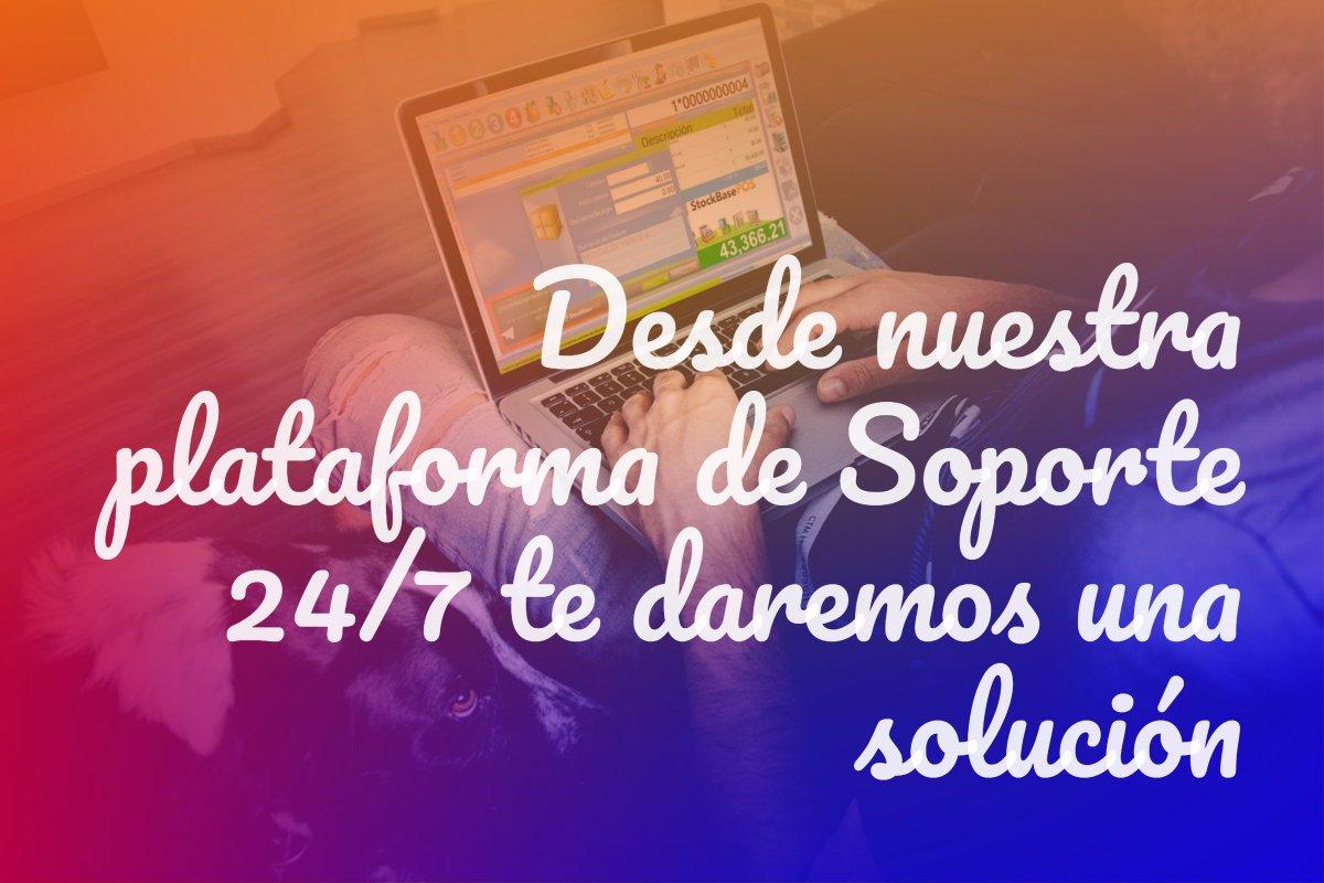 Desde nuestra plataforma de Soporte 24/7 te daremos una soluci贸n