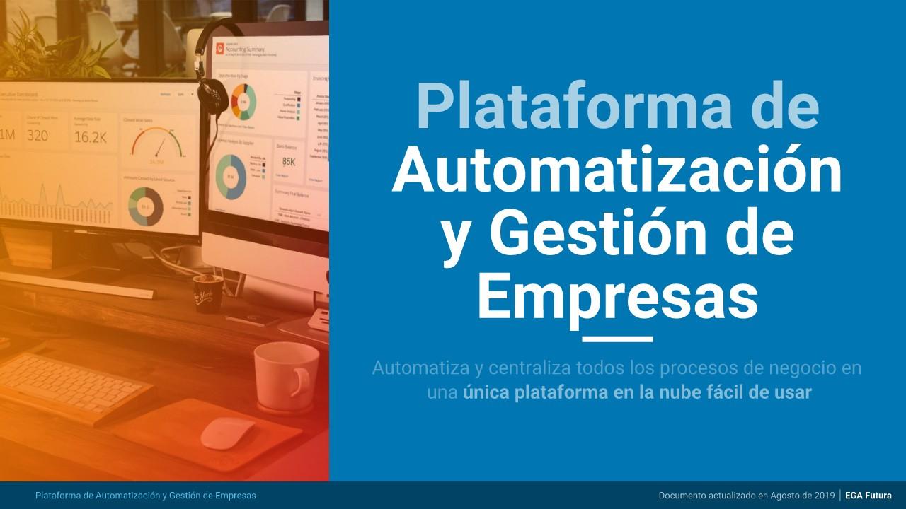 Sistema de Gestión Empresarial en la Nube para Empresas modernas