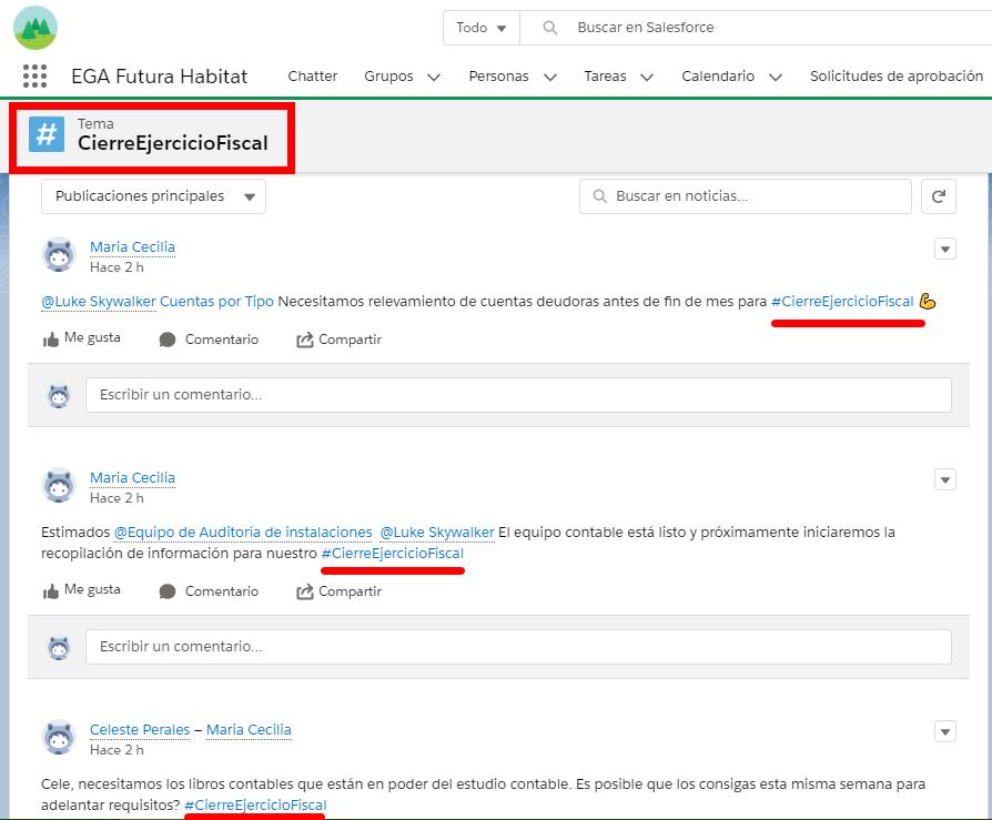 Resultados de la busqueda por tema o hashtag en EGA Futura Habitat