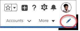 Icono Modificar barra de navegaci贸n