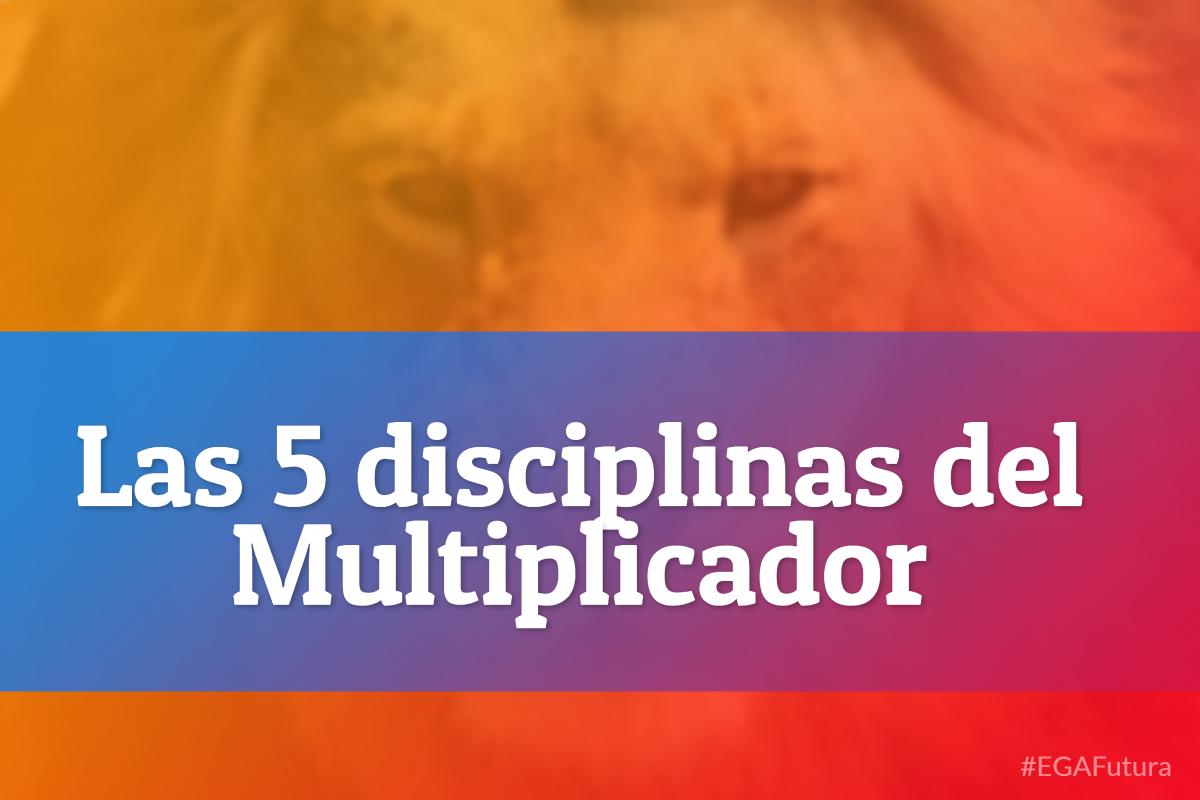 Las 5 disciplinas del Multiplicador