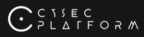 Cysec Platform