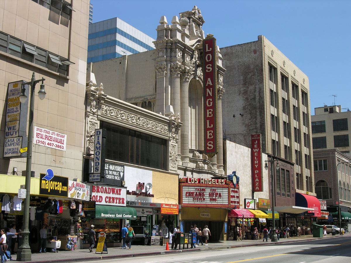 Broadway in los angeles
