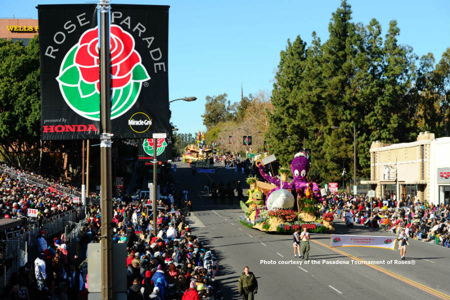 the rose parade