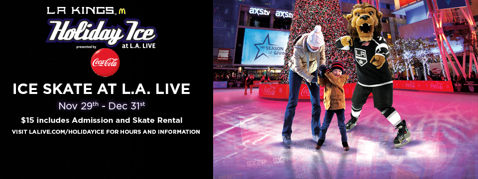 LA Kings Holiday Ice at LA Live