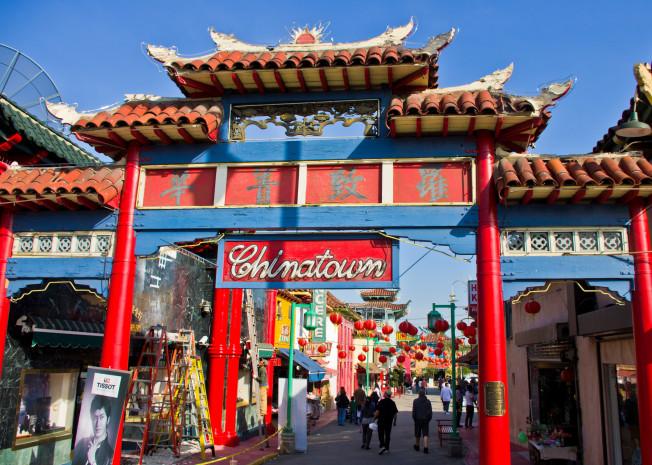 china town gates