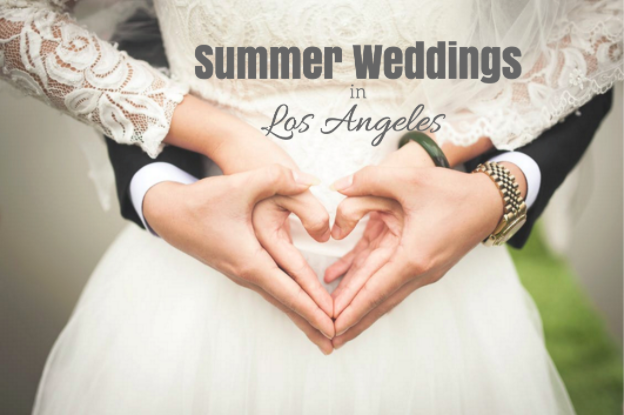 summer weddings in los angeles
