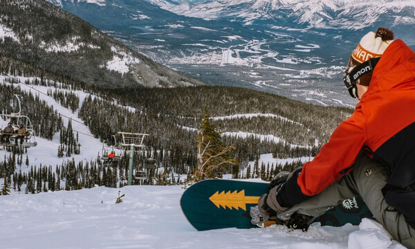 Jasper Snowboarding