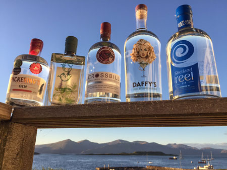 Scottish Craft Gins